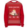 Image of Towboater Ugly Christmas Sweater - Merry Christmas HoHoHo R2