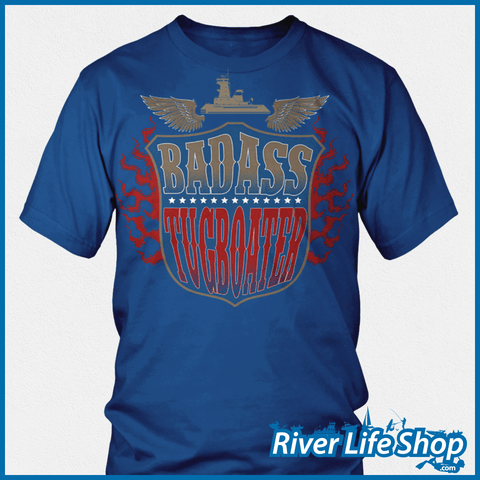 Badass Tugboater - River Life Shop  - 2