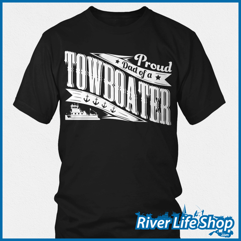 Proud Mom And Dad Of A Towboater - River Life Shop  - 1