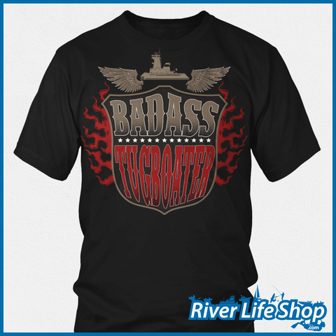Badass Tugboater - River Life Shop  - 1