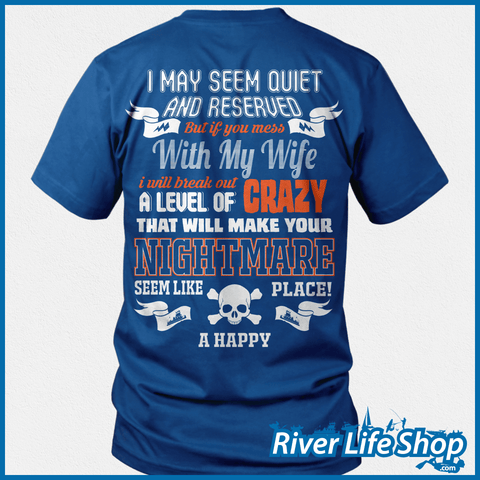 Don't Mess With My Towboat Wife - River Life Shop  - 3