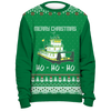 Image of Towboater Ugly Christmas Sweater - Merry Christmas HoHoHo G2