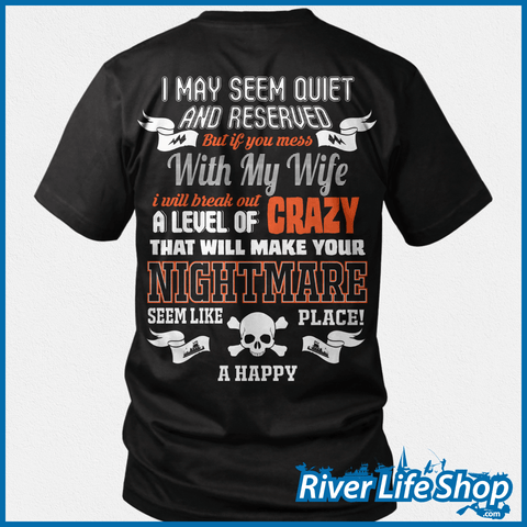 Don't Mess With My Towboat Wife - River Life Shop  - 1