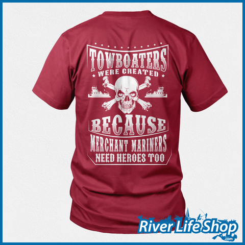 Merchant Mariners Need Heroes Too - River Life Shop  - 3