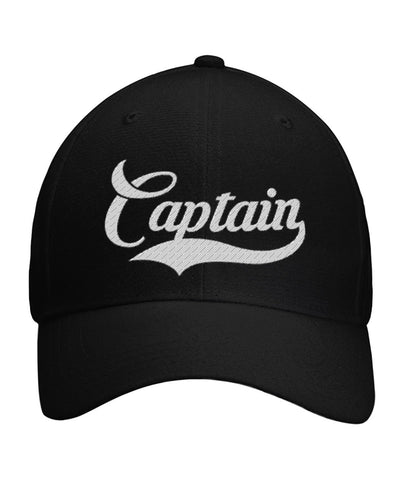 Captain's Hat Curved With Velcro Strap