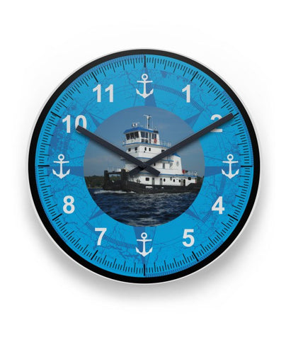 Sublimation Wall Clock For Towboaters