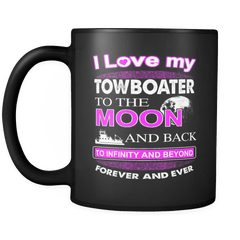 I Love My Towboater Mug