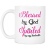 Image of Blessed by God Spoiled By My Towboater Mug