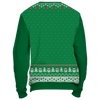 Image of Towboater Ugly Christmas Sweater Anchor Green
