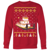 Image of Matching Towboater Family Ugly Christmas Sweater