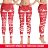 Image of Towboater's Spouse Ugly Christmas Leggings