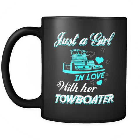 Just a Girl In Love With Her Towboater Mug