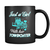 Image of Just a Girl In Love With Her Towboater Mug