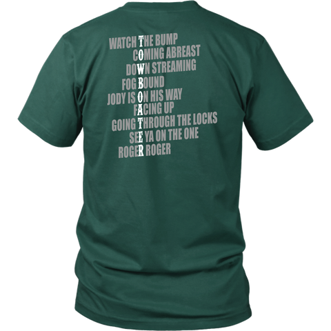 Towboaters Lingos Tees - Back design