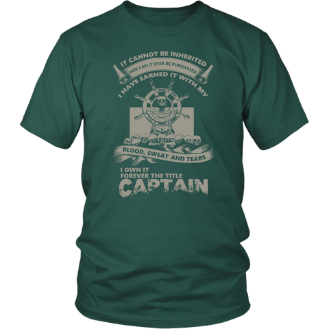 Captain Title Earned Front