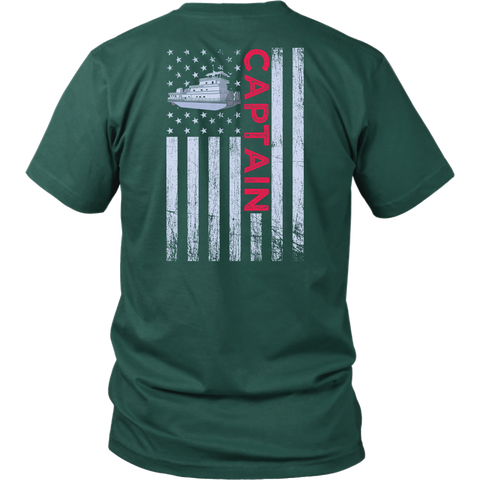 Patriotic Captain Design - Try Stepping On This One