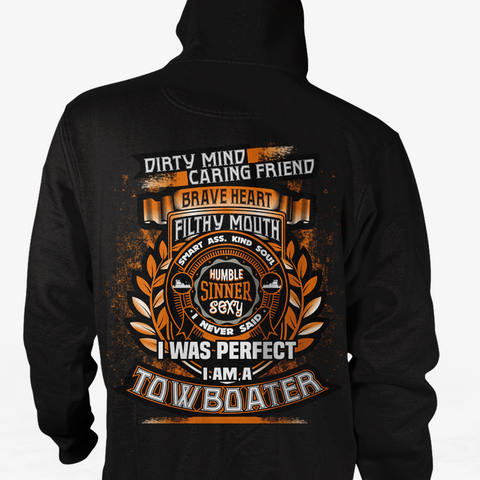 Dirty Mind! Caring Friend Towboater Shirt