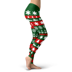Towboater Ugly Christmas Leggings GR