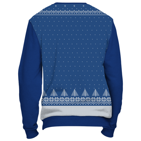 Towboater Ugly Christmas Sweater - Merry Christmas HoHoHo