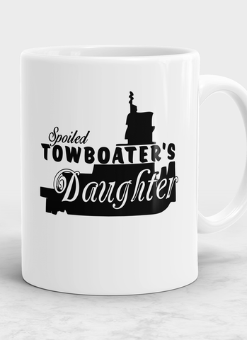 Spoiled Towboater's Daughter Mug