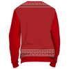 Image of Towboater Ugly Christmas Sweater Anchor Red