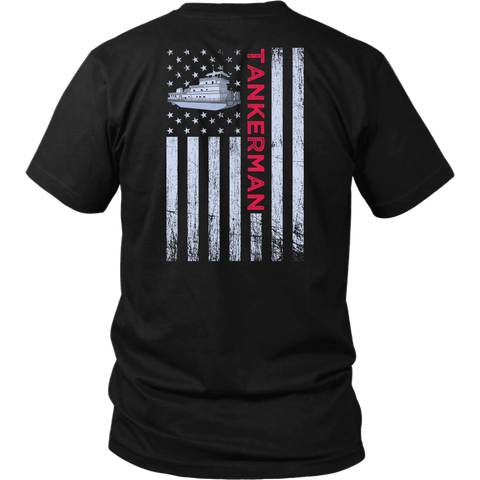 Patriotic Tankerman Design - Try Stepping On This One