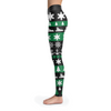 Image of Towboaters Ugly Christmas Leggings GREEN
