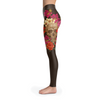 Image of Skull Head Leggings BROWN
