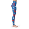 Image of Towboaters Ugly Christmas Leggings PAT3 ROYAL