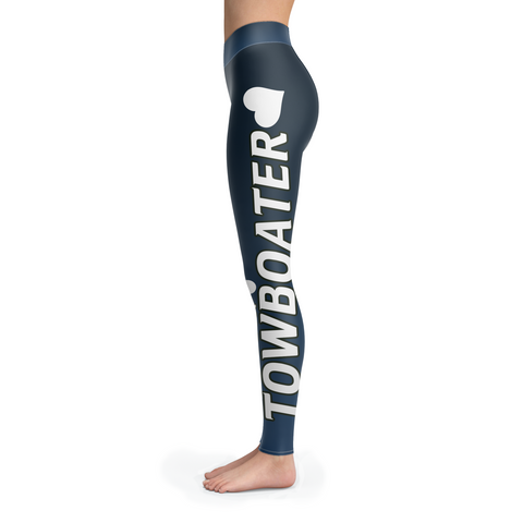 Spoiled By A Towboater Leggings