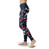 Image of Towboaters Ugly Christmas Leggings PAT3 NAVY