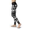 Image of Towboaters Ugly Christmas Leggings GREY