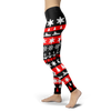 Image of Towboaters Ugly Christmas Leggings RED
