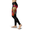 Image of Skull Head Leggings BLACK