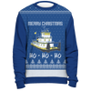 Image of Towboater Ugly Christmas Sweater - Merry Christmas HoHoHo B2