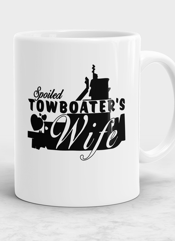 Spoiled Towboater's Wife Mug