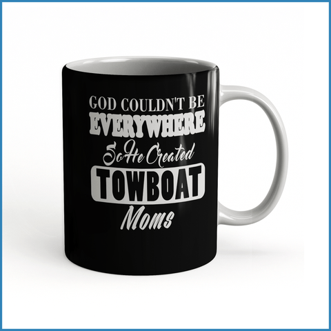 God Created Towboat Moms - River Life Shop  - 3