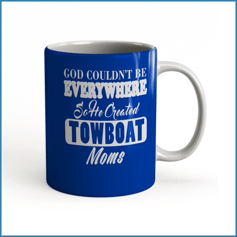 God Created Towboat Moms - River Life Shop  - 4
