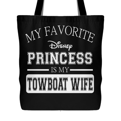 My Favorite Disney Princess Tote Bag