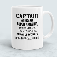 Captain Gift - Miracle Worker Mug