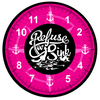 Image of I Refuse To Sink Sublimation Wall Clock