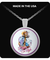 Refuse To Sink Round Pendant - River Life Shop