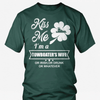 Image of Kiss Me I'm a Towboater's Wife - Funny St Pat day Tshirt