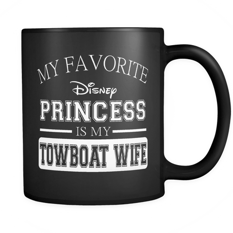 My Favorite Disney Princess Mug