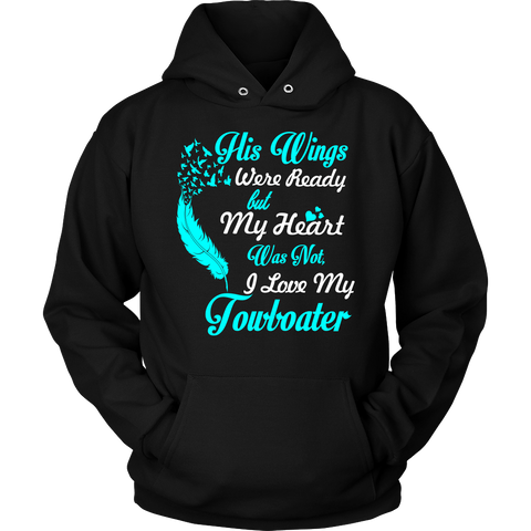 His Wings Were Ready Hoodie