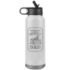 Image of World's Greatest Towboat Dad - Jumbo 32oz Water Bottle