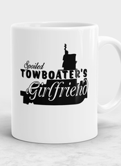 spoiled Towboater's Girlfriend Mug