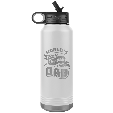 World's Greatest Dad - Jumbo 32oz Water Bottle