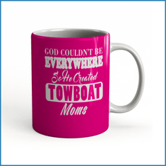 God Created Towboat Moms - River Life Shop  - 1