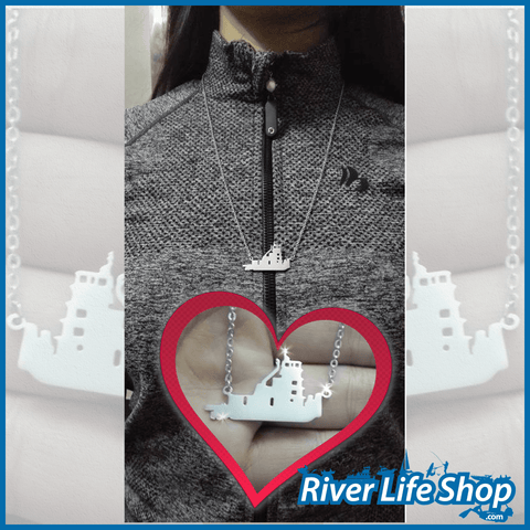 Free Limited Stock - Towboat Necklace - River Life Shop